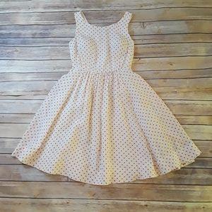 🌴Moulinette Soeurs Polka Dot Silk Dress
